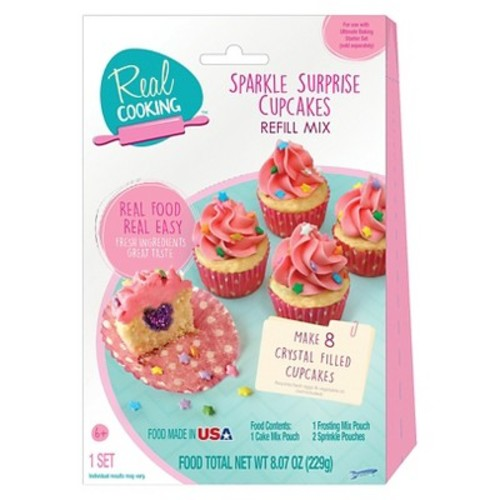 Real Cooking Sparkle Surprise Cupcakes Refill