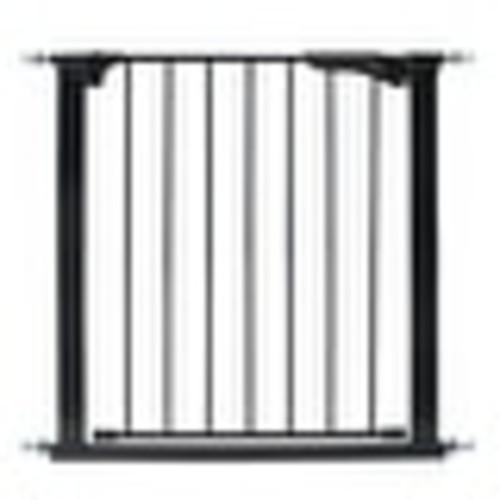 Kidco Gateway Pressure Mounted Pet Gate Black 29