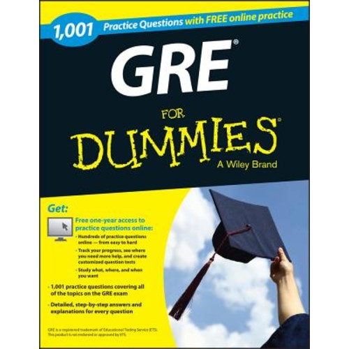 1,001 GRE Practice Questions for Dummies