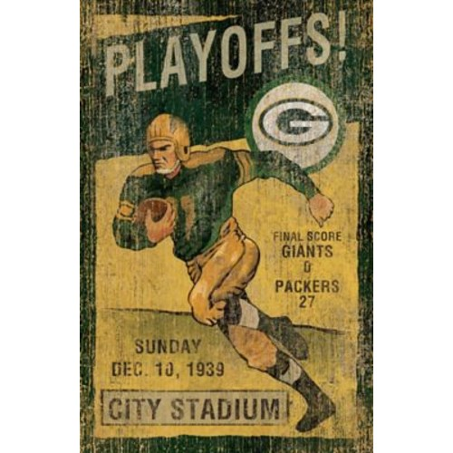 Imperial NFL Vintage advertisement; Green Bay Packers