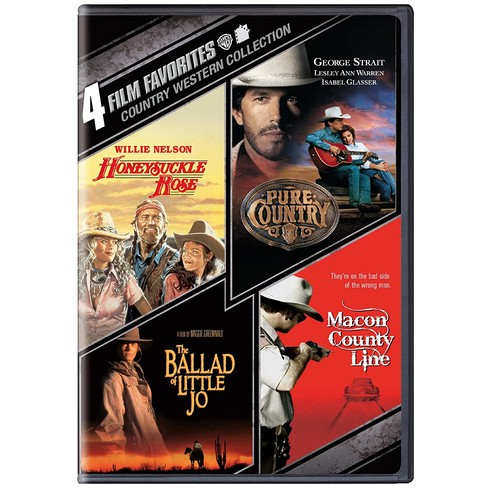 Country Western Collection: 4 Film Favorites [2 Discs] [DVD]