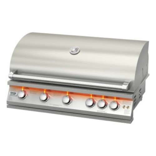 BroilChef 5-Burner Built-In Gas Grill