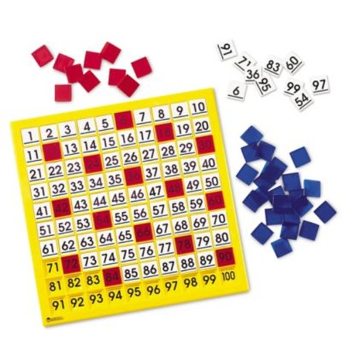 Learning Resources Hundred Number Board