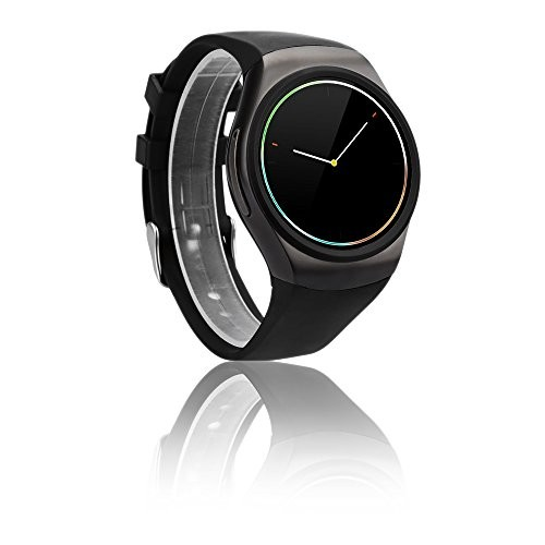 Indigi A18 Android SmartWatch w/ Pedometer + Heart Rate Sensor + Bluetooth 4.0 + SMS & Notification + Dial and Pickup