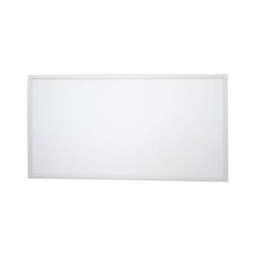 QIAYA 2 ft. x 4 ft. White LED Edge-Lit Flat Panel Dimmable Flushmount (Set of 2)