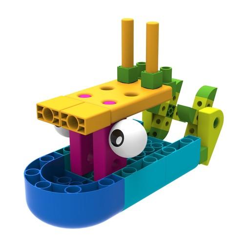 Thames & Kosmos Kids First Boat Engineer STEM Kit & Storybook