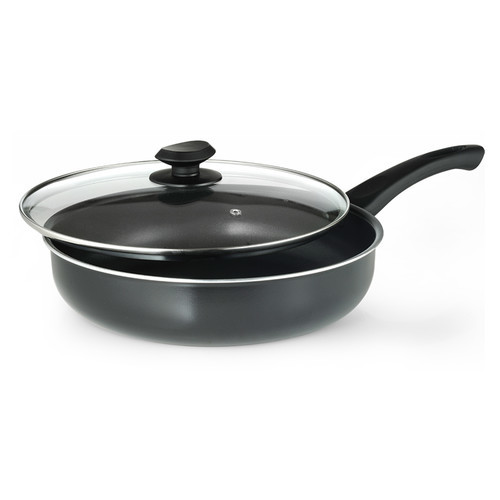 Ecolution Aluminum Frying Pans with Lid