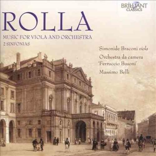Simonide Braconi - Rolla: Music for Viola and Ensemble