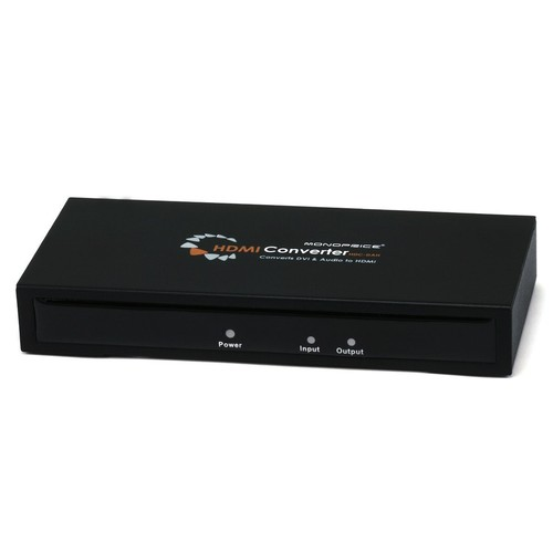 Monoprice 105369 DVI & S/PDIF Digital Coax Optical TOSLINK Audio to HDMI Converter