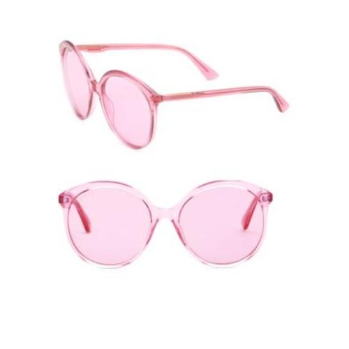 59MM Round Sunglasses