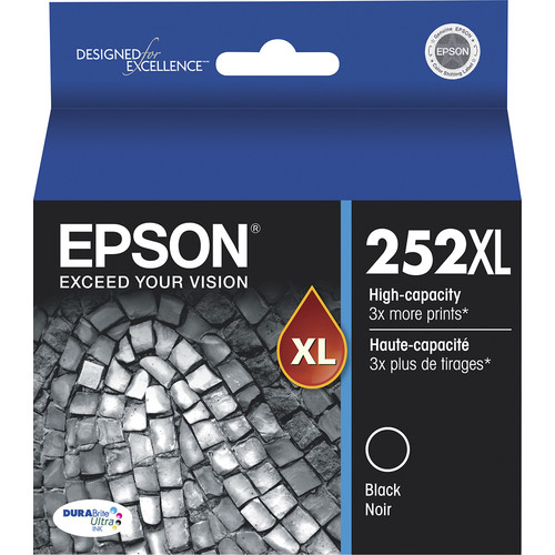 Epson - 252XL High-Yield Ink Cartridge - Black