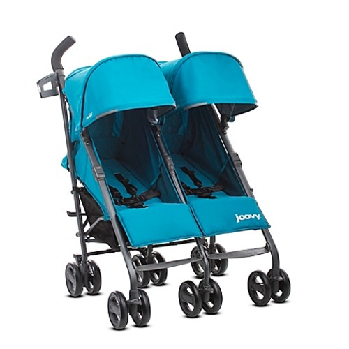 Joovy Twin Groove Ultralight Umbrella Stroller in Turquoise