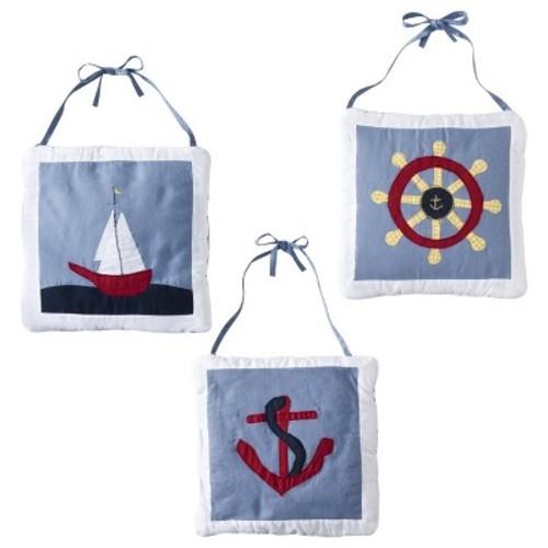 Sweet Jojo Designs Come Sail Away Wall Hangings