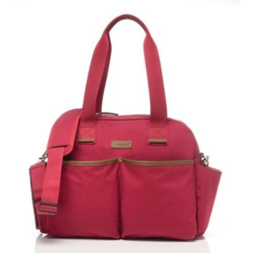 BabyMel Jesse Diaper Bag in Red