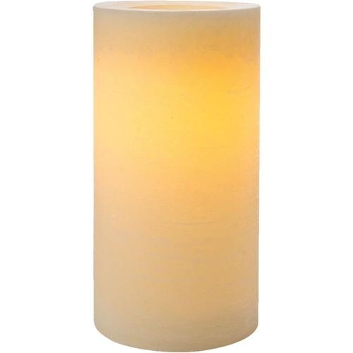 Inglow Cream Wax Pillar LED Flameless Candle - CGT42168CR01