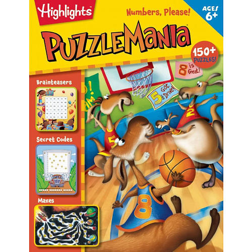 Highlights Puzzle Mania Numbers, Please! Book