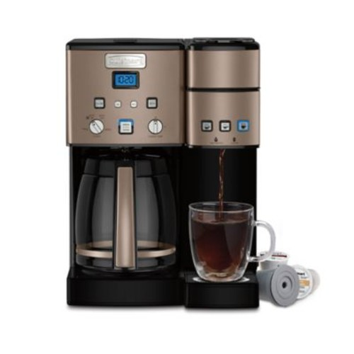 Cuisinart Coffee Center 12-Cup Coffee Maker and Single Serve Brewer
