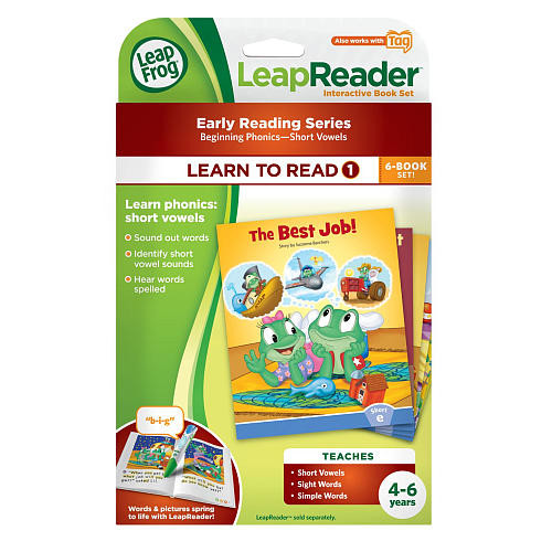LeapFrog LeapReader Learn to Read, Volume 1