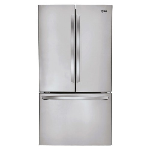 LG - 30.6 Cu. Ft. French Door Smart Refrigerator - Stainless Steel
