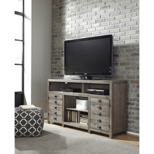 Signature Design by Ashley TV Stands & Entertainment Centers Signature Design by Ashley Keeblen Grayish Brown Left Pier