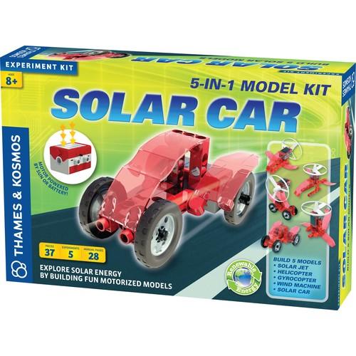 Thames & Kosmos Solar Car Science Experiment Kit