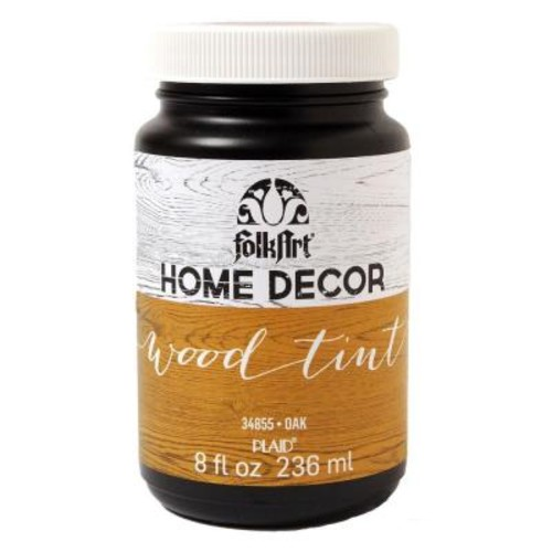 FolkArt Home Decor 8 oz. Oak Wood Tint