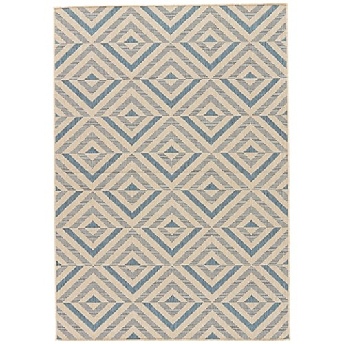 Jaipur Isla I-O 2-Foot x 3-Foot Indoor/Outdoor Accent Rug in Blue