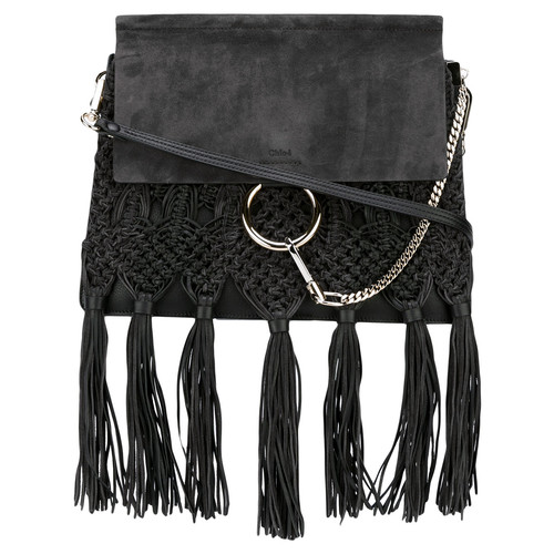 Faye tassel shoulder bag