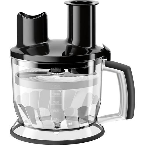 Braun - MQ 70 All-in-one food processor attachment - Premium black