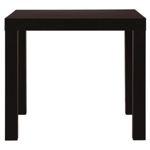 Parsons End Table - Espresso - Brown - Dorel Home Products