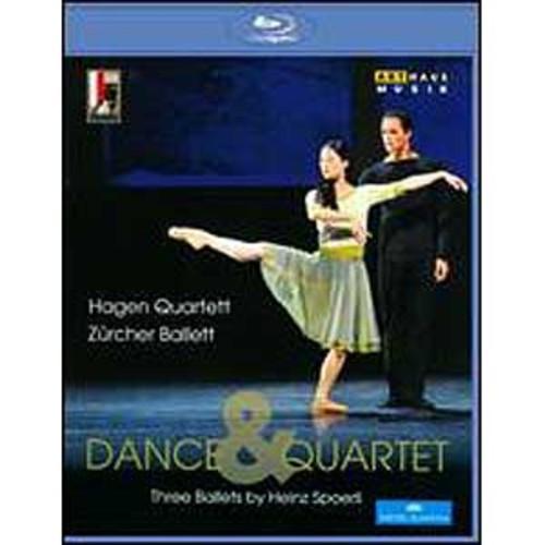 Dance & Quartet: Three Ballets by Heinz Spoerli [Blu-ray]