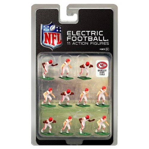 Kansas City Chiefs White Uniform NFL Action Figure Set