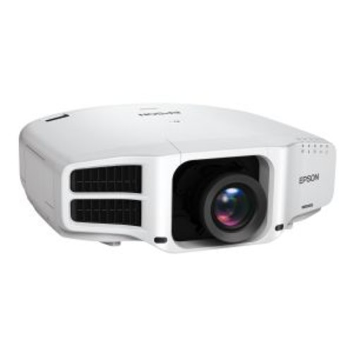 Epson PowerLite Pro G7200WNL - LCD projector - 7500 lumens - WXGA (1280 x 800) - 16:10 - HD 720p - no lens - LAN with 3 years Epson Road Service Program