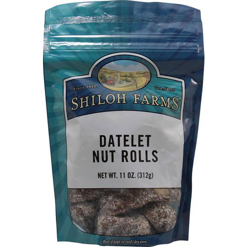 Shiloh Farms Datelet Nut Rolls -- 11 oz