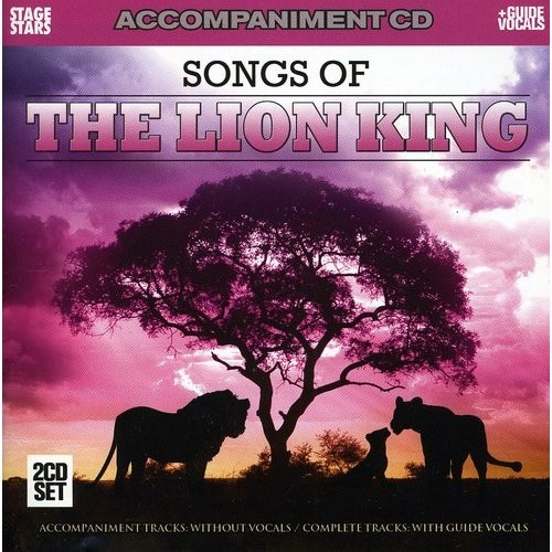 Songs from The Lion King accompaniment