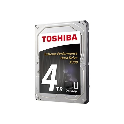 Toshiba X300 Desktop Internal Hard Drive - 4TB - 3.5