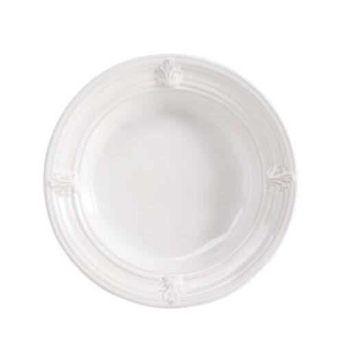 Acanthus Pasta/Soup Bowl, Whitewash