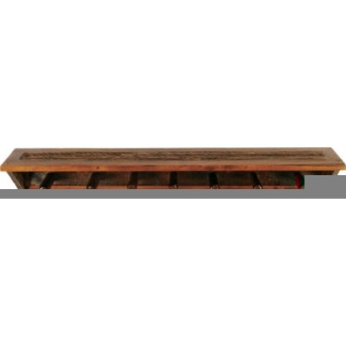 Mountain Woods Furniture Wyoming Coat Rack with Shelf