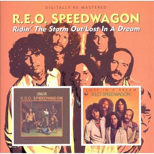 Ridin' the Storm Out/Lost in a Dream [CD]