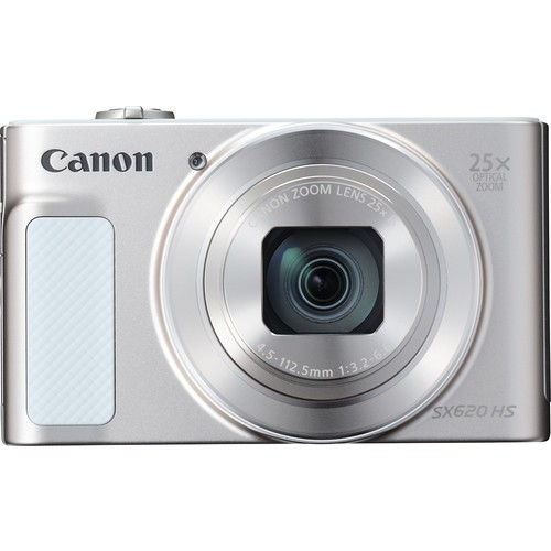 Canon PowerShot SX620 HS (Silver) 20.2-megapixel digital camera with Wi-Fi and 25X optical zoom