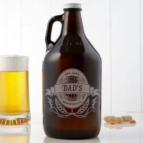 Dad's Brewing Co. 64 oz. Beer Growler
