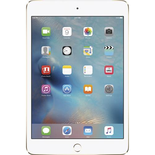 Apple - iPad mini 4 Wi-Fi + Cellular 128GB - G