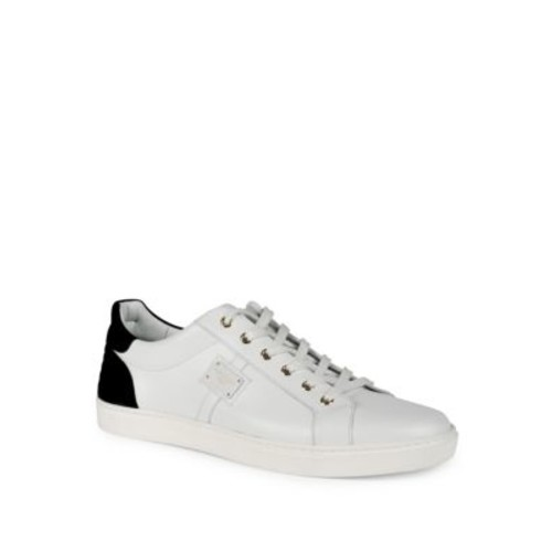 DOLCE & GABBANA Low-Top Leather Sneakers
