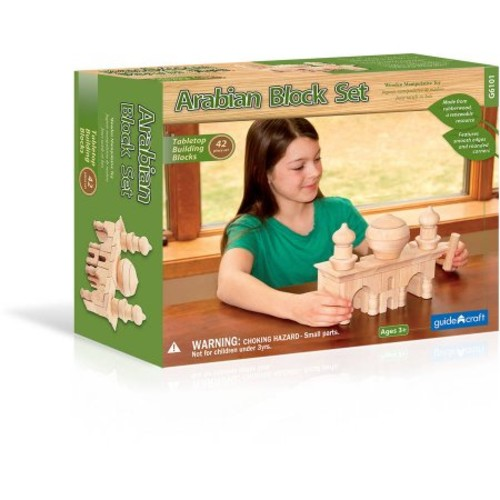 Guidecraft Arabian Block Set [Multicolor, None]