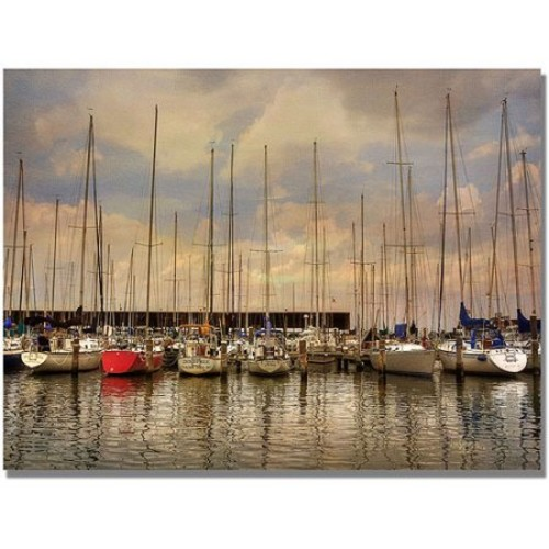 Lois Bryan 'Come Sail Away' Canvas Art