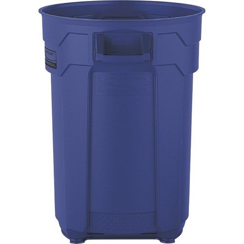 Suncast 44-Gallon Utility Trash Can  Blue, Model# BMTCU44