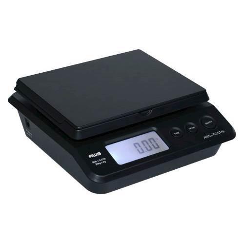 American Weigh Scales - Digital Postal Scales - Black