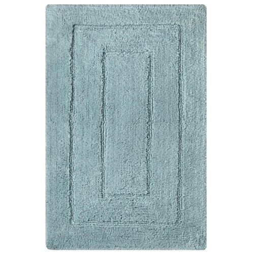 Home Decorators Collection Newport Robin Blue 20 in. x 32 in. Cotton Bath Rug