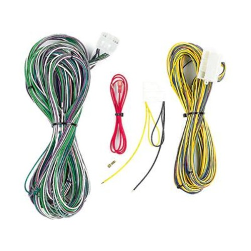 Metra 70-6504 Amp Bypass Harness Allows you to install a new car stereo and bypass the factory amplifier in select Jeep, Chrysler, and Dodge vehicles