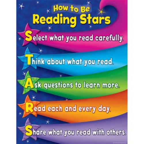 Teacher Created Resources Reading Stars Chart, Reading